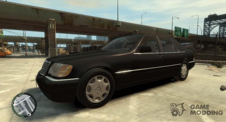 Mercedes-Benz S600L W140