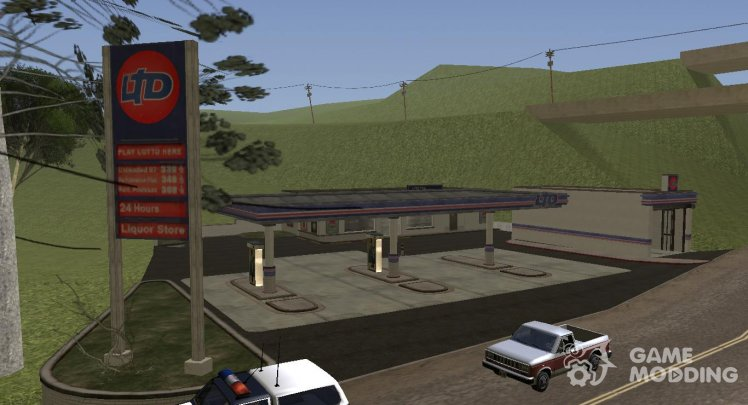 New Gas Station In Angel Pine