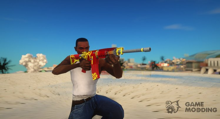 Rules of Survival AR15 Wild Dragon