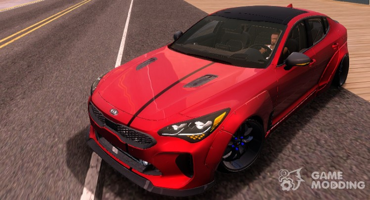 KIA Stinger GT Wide Body Kit 2018