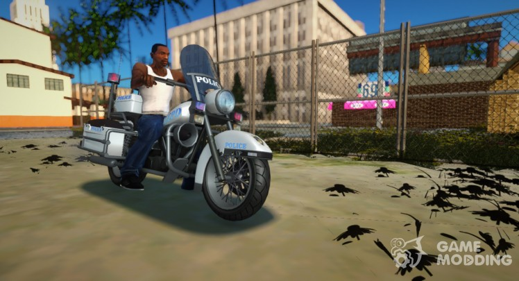 GTA 4 TBoGT Police Bike