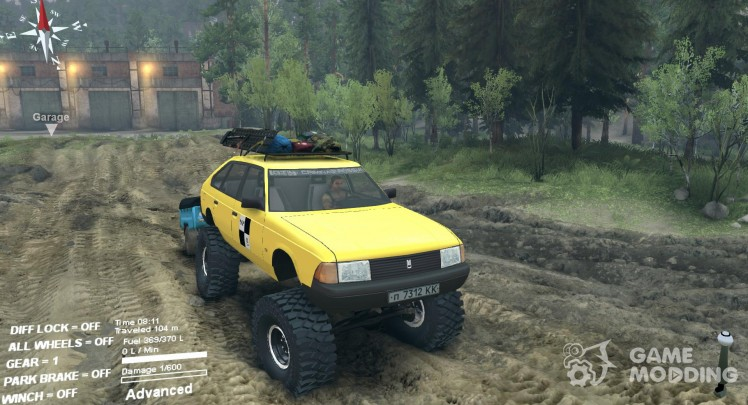 AZLK Moskvich 2141 taxi Monster