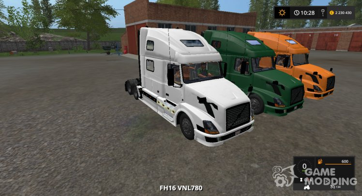 Volvo VNL 780 2002 version 1.0