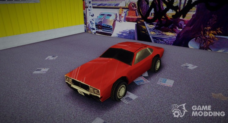 Dodge Challenger from Driver 2 (Civil Edition)