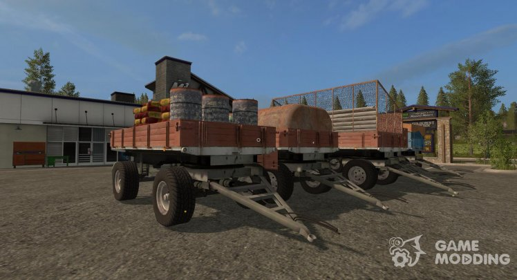 Mod pack trailers BSS П93С version 5.0