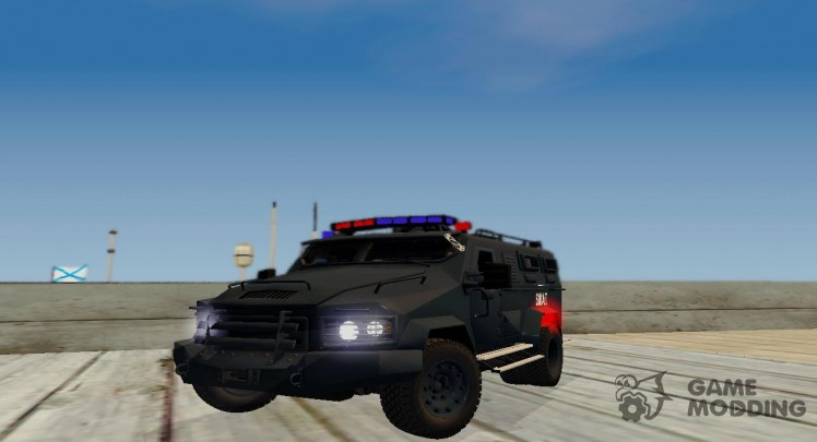 Lenco B. E. A. R. S. W. A. T. of Fairhaven City in Need For Speed Most Wanted 2012