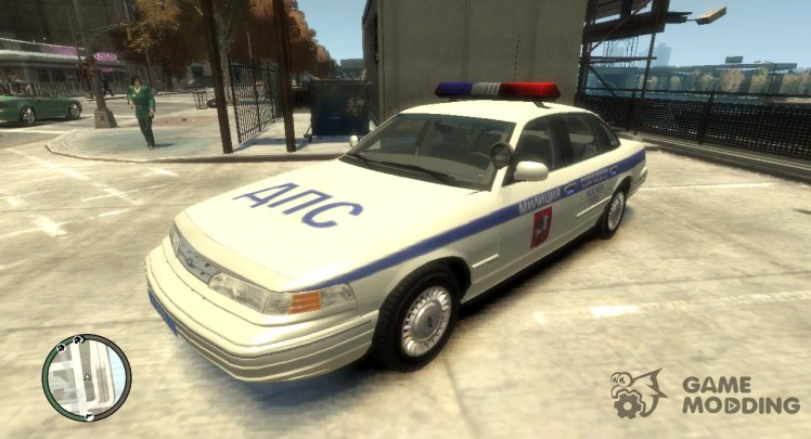 1995 Ford Crown Victoria (Moscow Police)