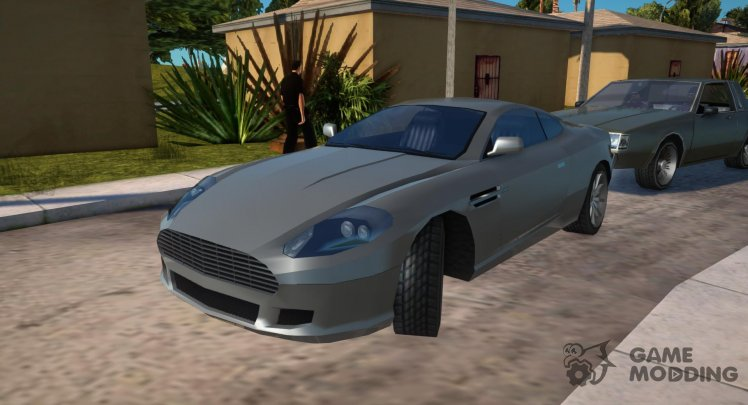 Aston Martin DB9 Low Poly
