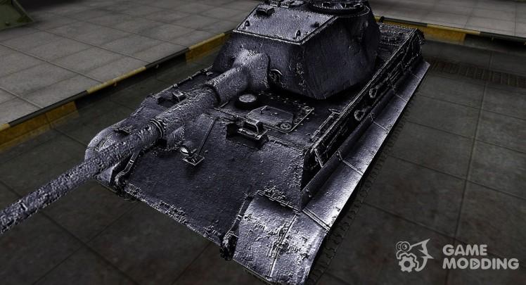 Темный скин для PzKpfw VIB Tiger II