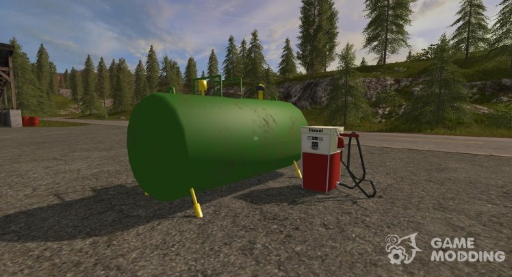 Placeable Fuel Station version 1.0