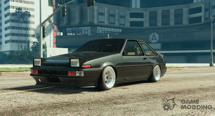 Toyota AE86 Coupe Tunable 0.1