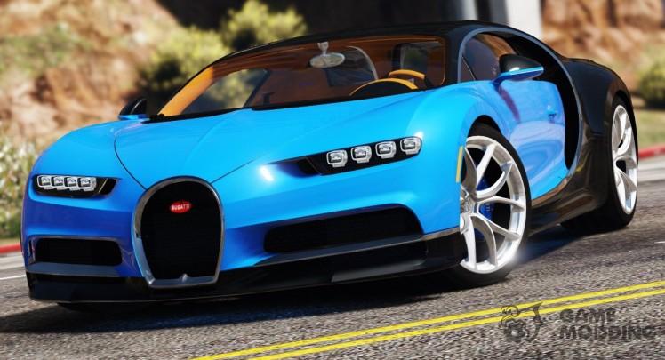 2017 Bugatti Chiron (Retexture) 4.0