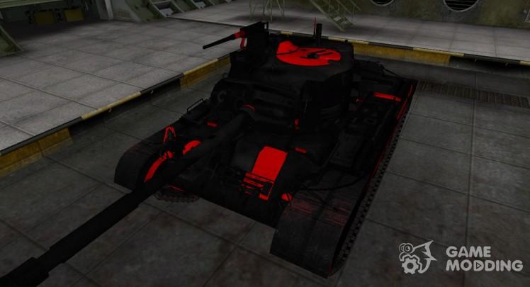Черно-красные зоны пробития M46 Patton