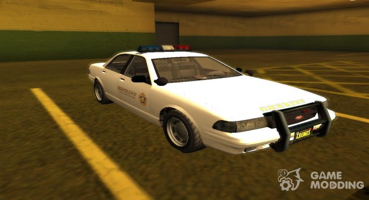 GTA V Sheriff Cruiser (EML)