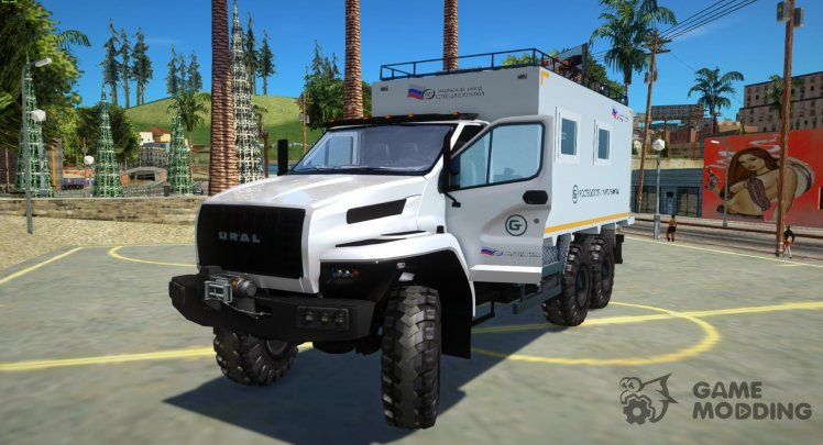 Ural NEXT 4320-6952-72Е5Г38 004 Residential unit, USST