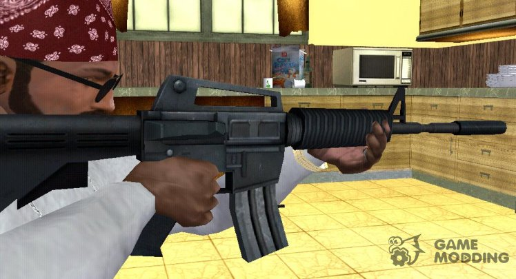 M4 from Counter Strike Source