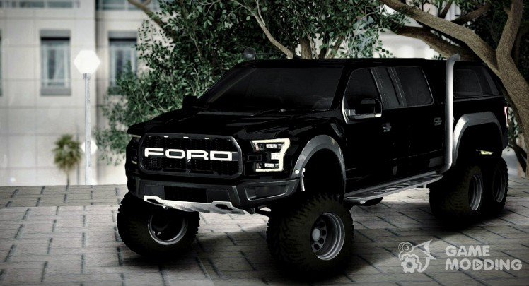 Ford F150 Raptor 6 x 6 Long