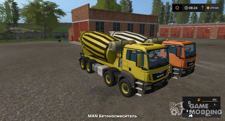 MAN Betonosmesitel version 17.0.2.0