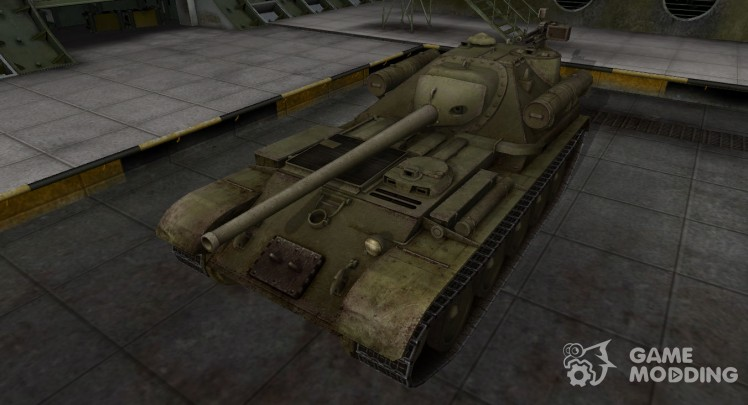Skin for Su-101 in rasskraske 4BO