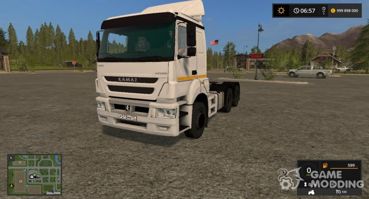 KamAZ 65806-002-68 for Farming Simulator 2017