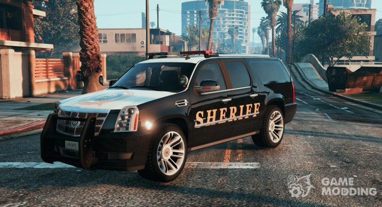 2012 Cadillac Escalade ESV Police Version Paintjobs