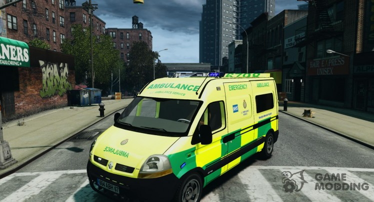 Renault Master 2007 Scottish Ambulance