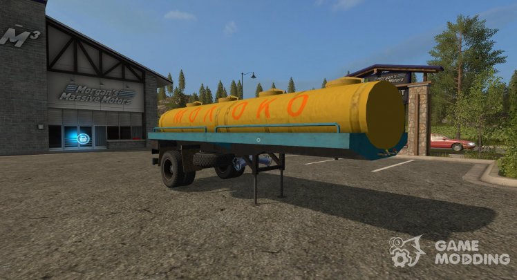 Semi-trailer ODAZ version 1.1