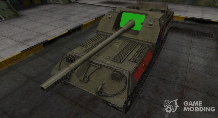 High-quality skin for Object 263