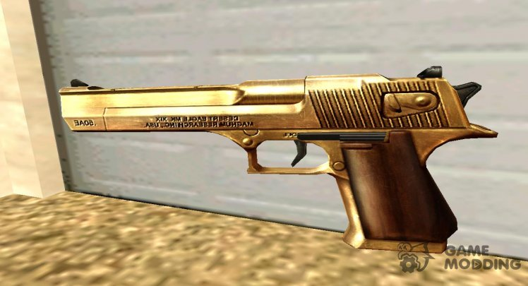 GTA IV Desert Eagle Gold
