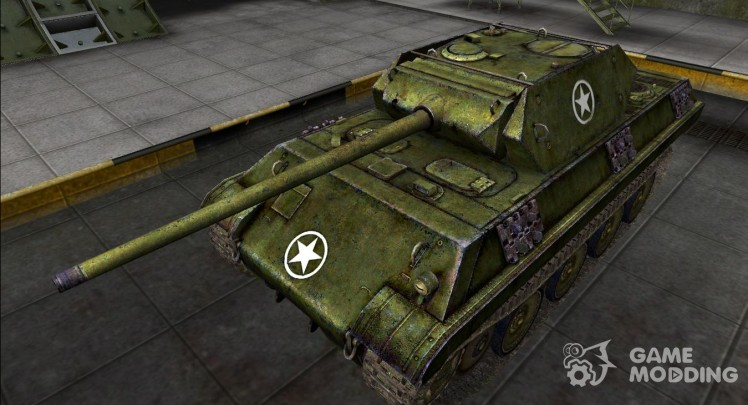 The skin for the Panther M10