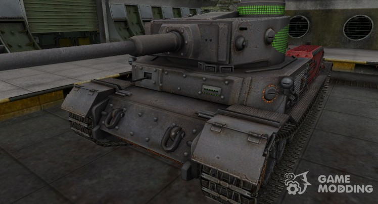 Area penetration PzKpfw VI Tiger (P)