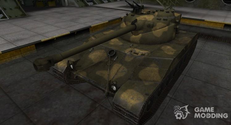 Historical camouflage Bat Chatillon 25 t