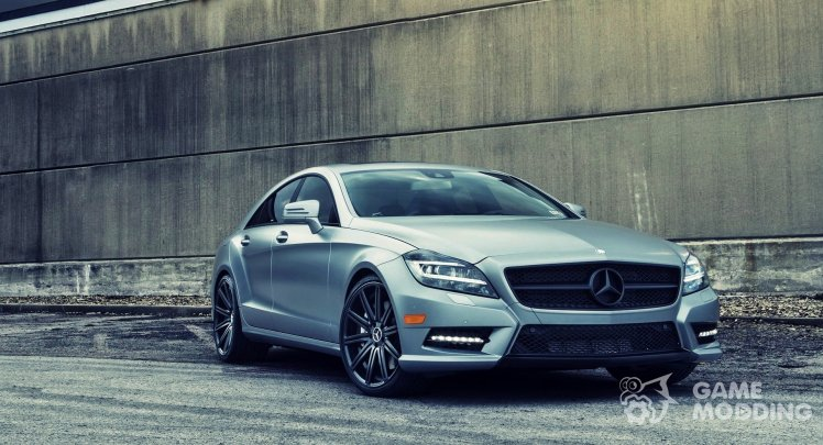 Mercedes-Benz CLS 63 AMG Sound mod