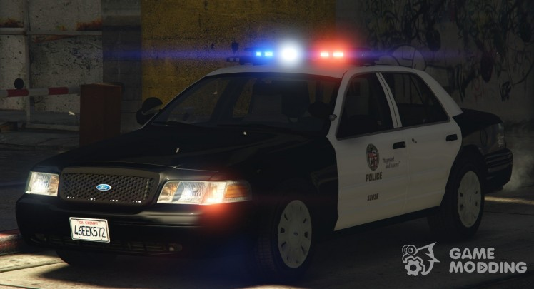 2006 Ford Crown Victoria-Los Angeles Police 3.0