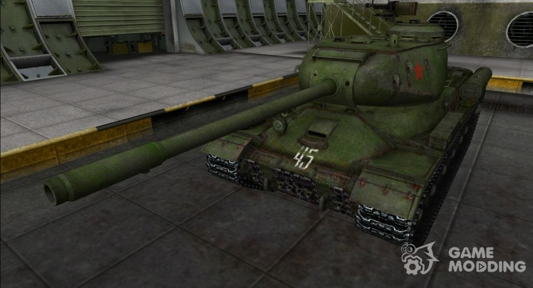 The skin for the IS-2