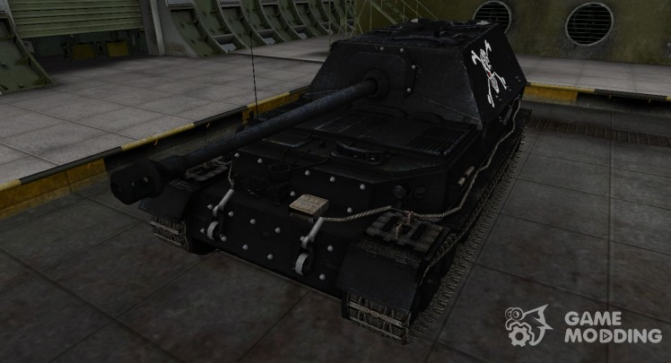 The dark skin of Ferdinand for World Of Tanks
