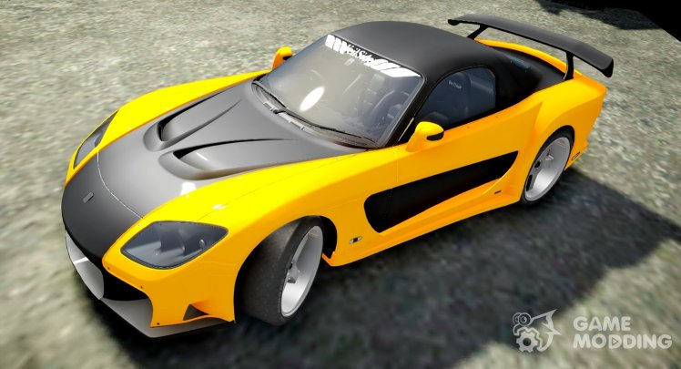 1993 Mazda RX7 Veilside Fortune Fast and Furious Tokyo Drift