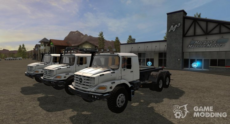 Pak Mercedes-Benz Zetros version 1.0.0.0