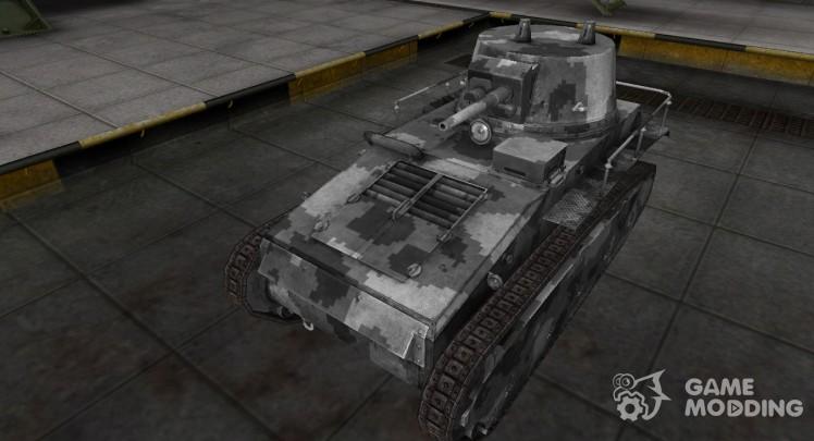 Camouflage skin for Leichttraktor