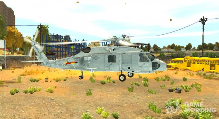Sikorsky SH-60 helicopter