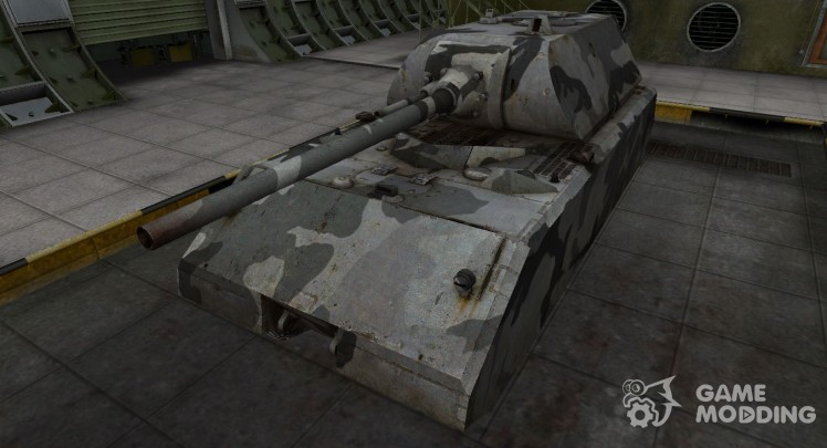 Emery cloth for German tank Maus for World Of Tanks