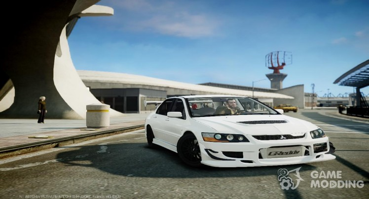 Mitsubishi Lancer Evolution VIII MR C-West [Custom PJ]