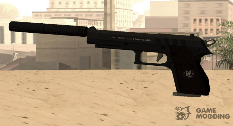 GTA V Hawk & Little Black Tint (silenced)