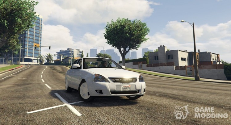 LADA Priora v2.3 for GTA 5