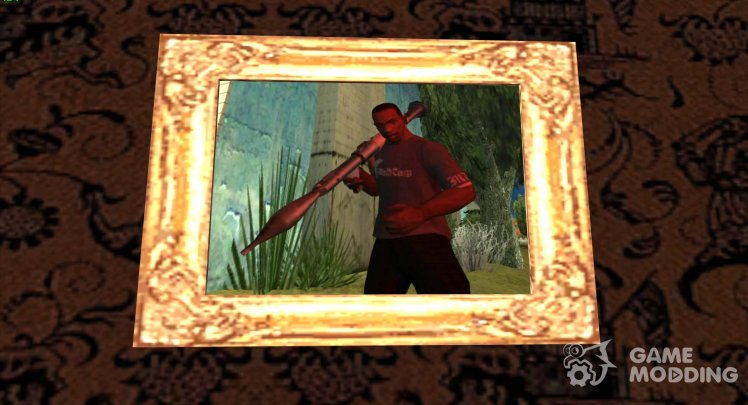 New photos/paintings in the houses of CJ
