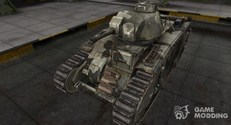 The skin for the German Panzer B2 740 (f)