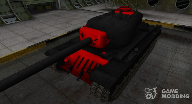 Black and red zone breakthrough T34