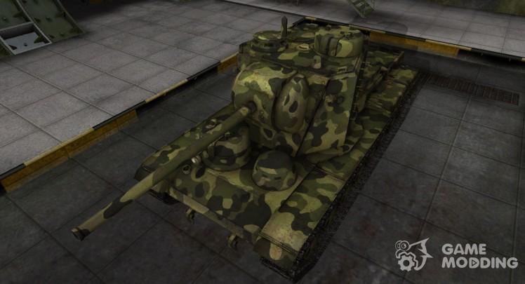 Скин для КВ-5 с камуфляжем