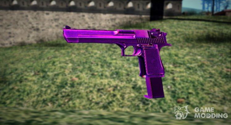 NEW DESERT EAGLE IN PURPLE COLOR
