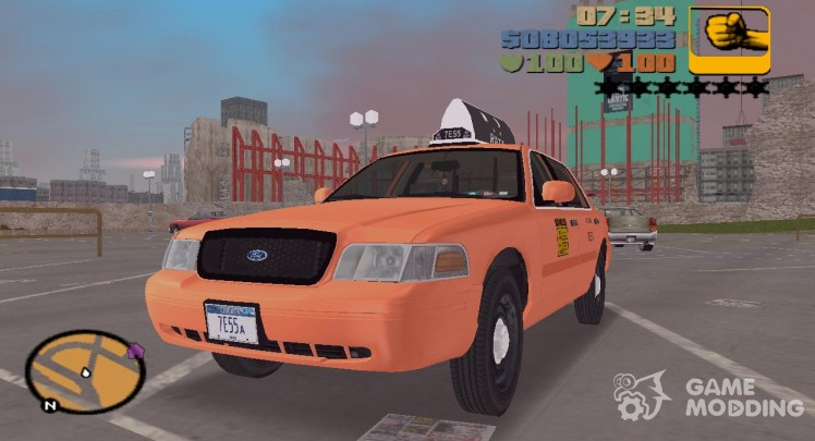 Ford Crown Victoria P70 LWB Taxi-2002, 2006